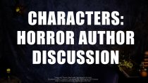 Characters in Horror Stories – A Panel Discussion with Horror Authors